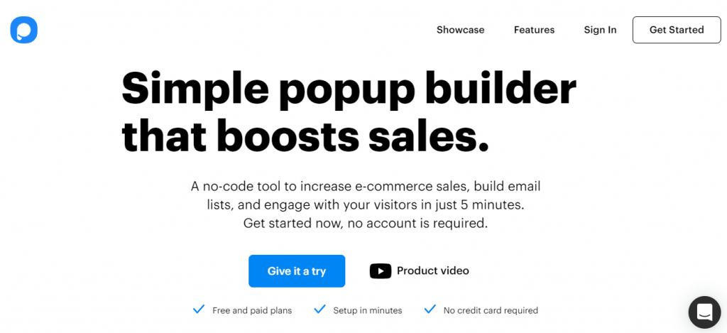 OptiMonk Alternatives for Lead Generation Popupsmart