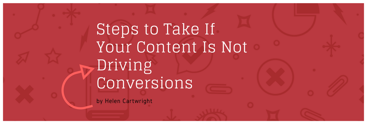 content is driving conversions