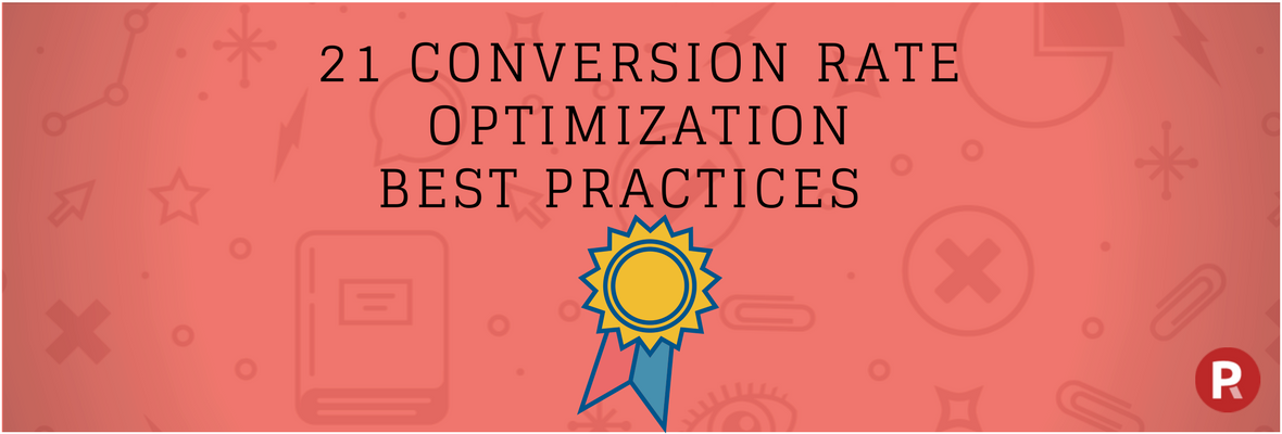 Conversion rate optimization best practice