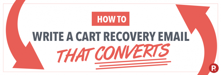Picreel Write a Cart Recovery Email that Converts blog banner