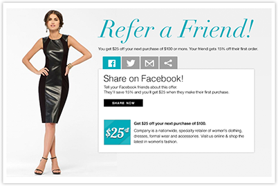 """Encourage Your Customers To """"Tell a Friend"""""""