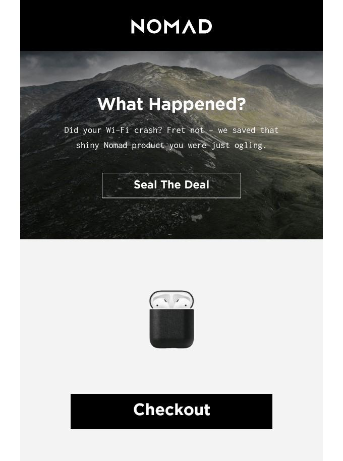 Abandoned Cart Email Examples to Win Customers
