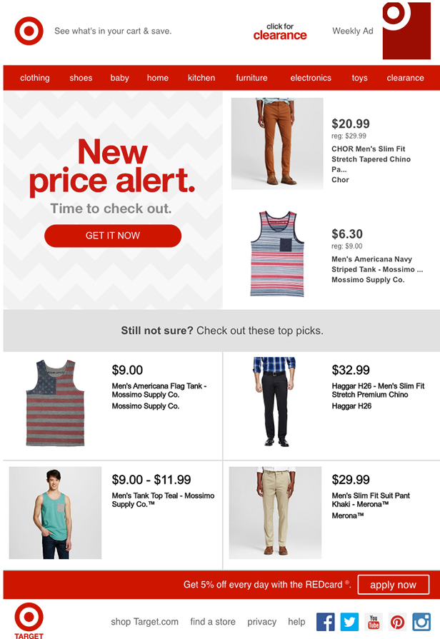 Ninth Abandoned Cart Email Examples to Win Customers