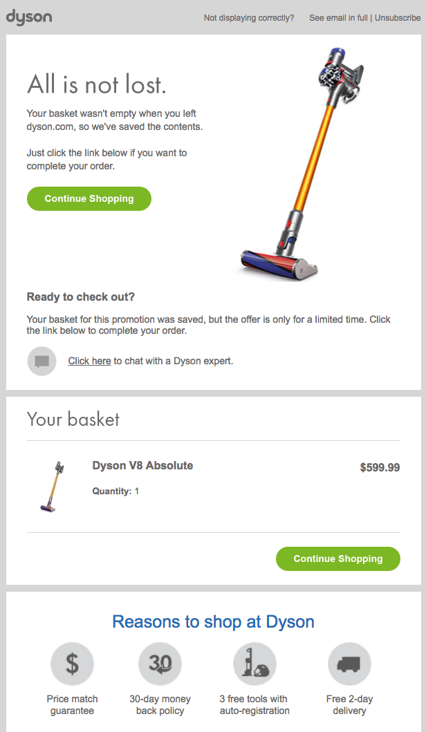 Eight Abandoned Cart Email Examples to Win Customers