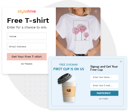 Host Giveaways & Offer Gifts to Build Email Lists Rapidly