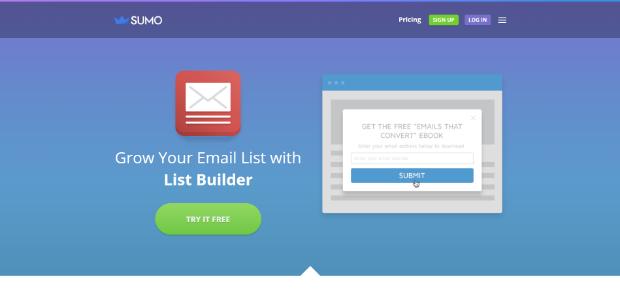 Sumo List Builder Optinmonster Alternatives