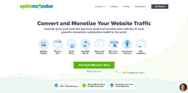 Hellobar Alternatives OptinMonster