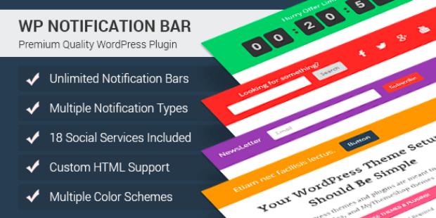 Hellobar Alternatives WP Notification Bar